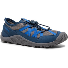 Merrell Hydro Lagoon Shoes Kids, grey black royal